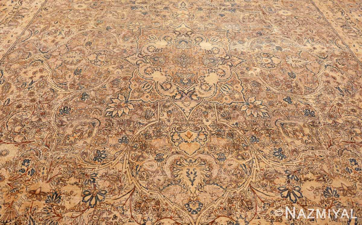 Field Large oversized Antique Persian Kerman rug 42880 by Nazmiyal