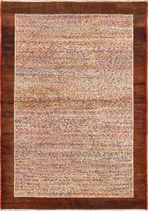antique indian agra rug 40886 Nazmiyal