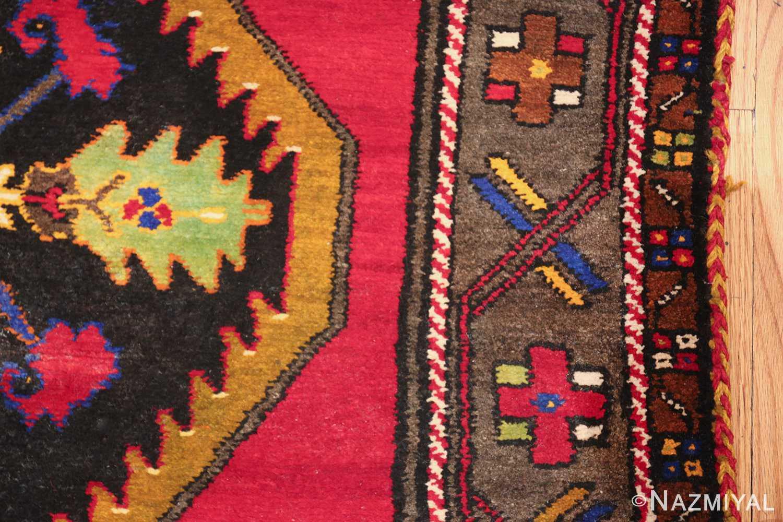 antique caucasian karabagh rug 42915 border Nazmiyal