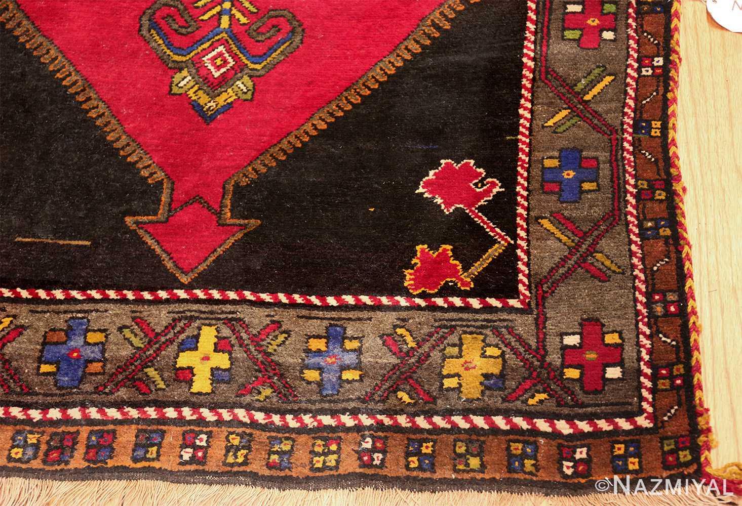 antique caucasian karabagh rug 42915 corner Nazmiyal