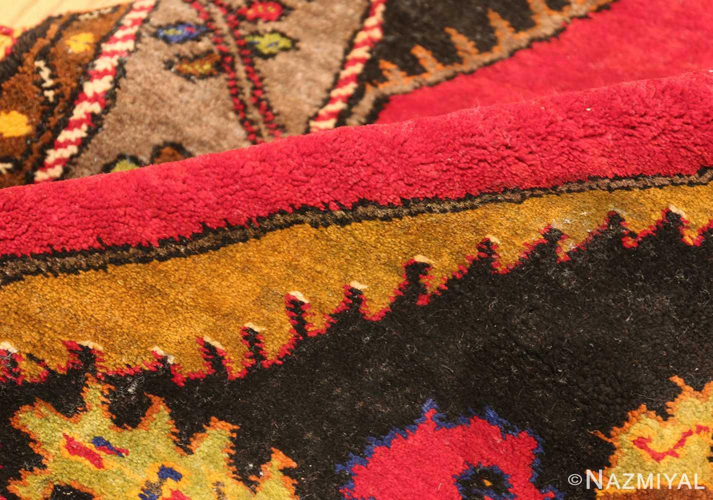 antique caucasian karabagh rug 42915 pile Nazmiyal