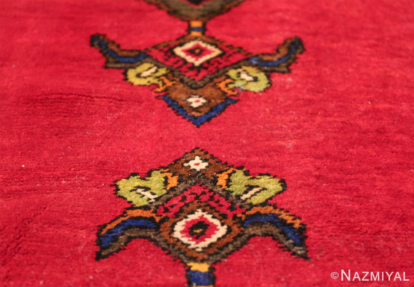 antique caucasian karabagh rug 42915 tiaras Nazmiyal