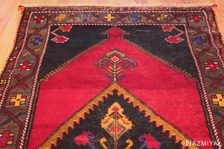 antique caucasian karabagh rug 42915 top Nazmiyal
