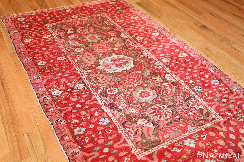 antique indian agra rug 3398 side Nazmiyal