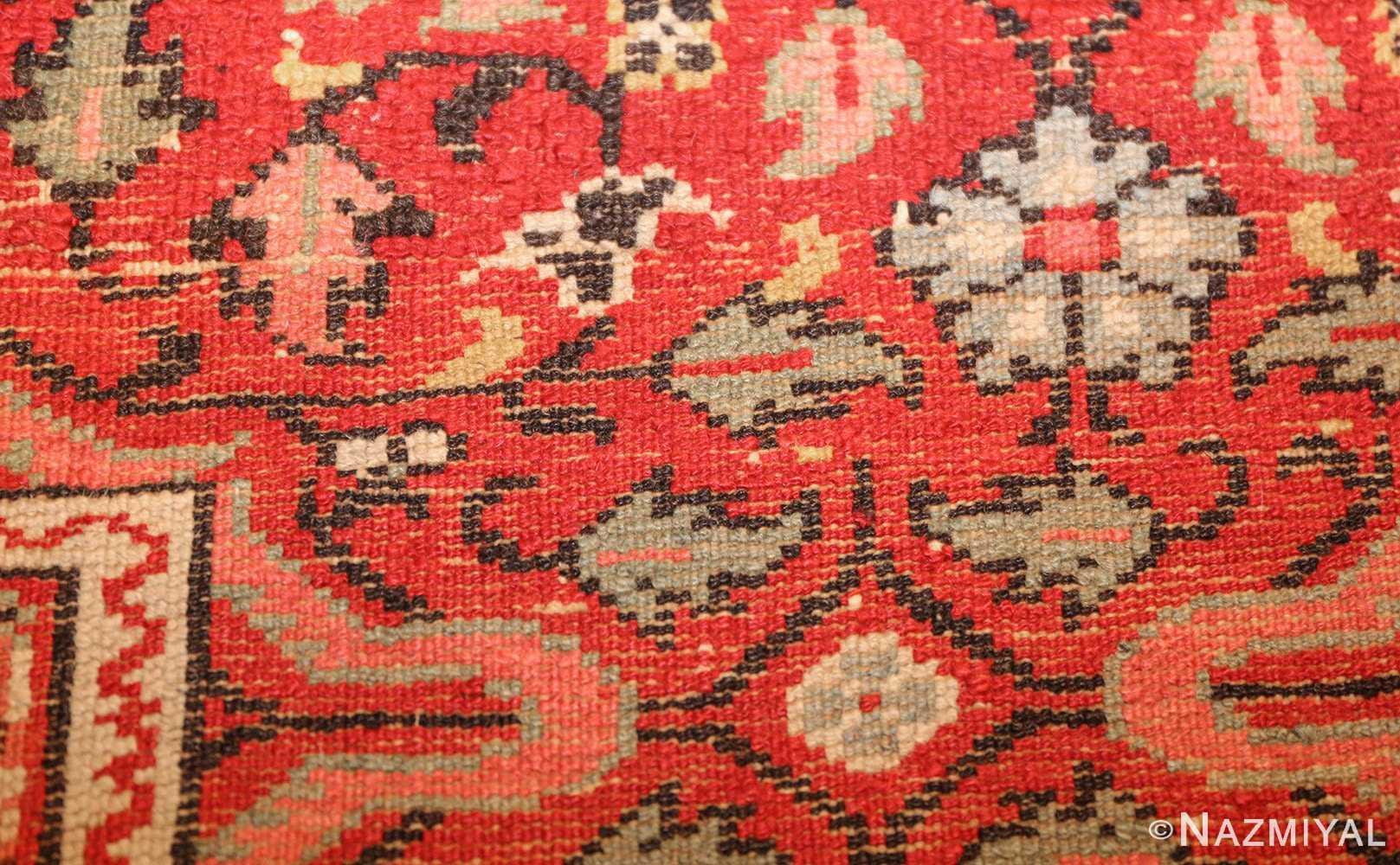 antique indian agra rug 3398 weave Nazmiyal