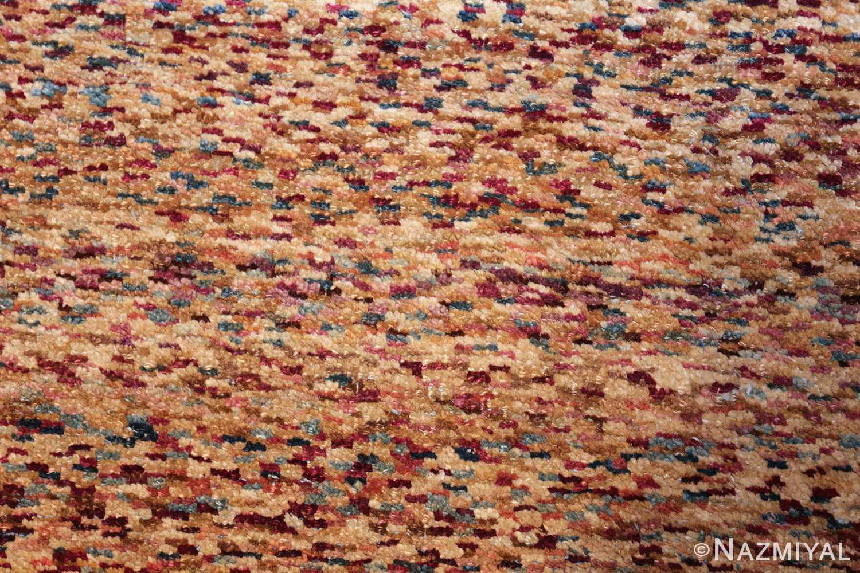 antique indian agra rug 40886 closeup Nazmiyal