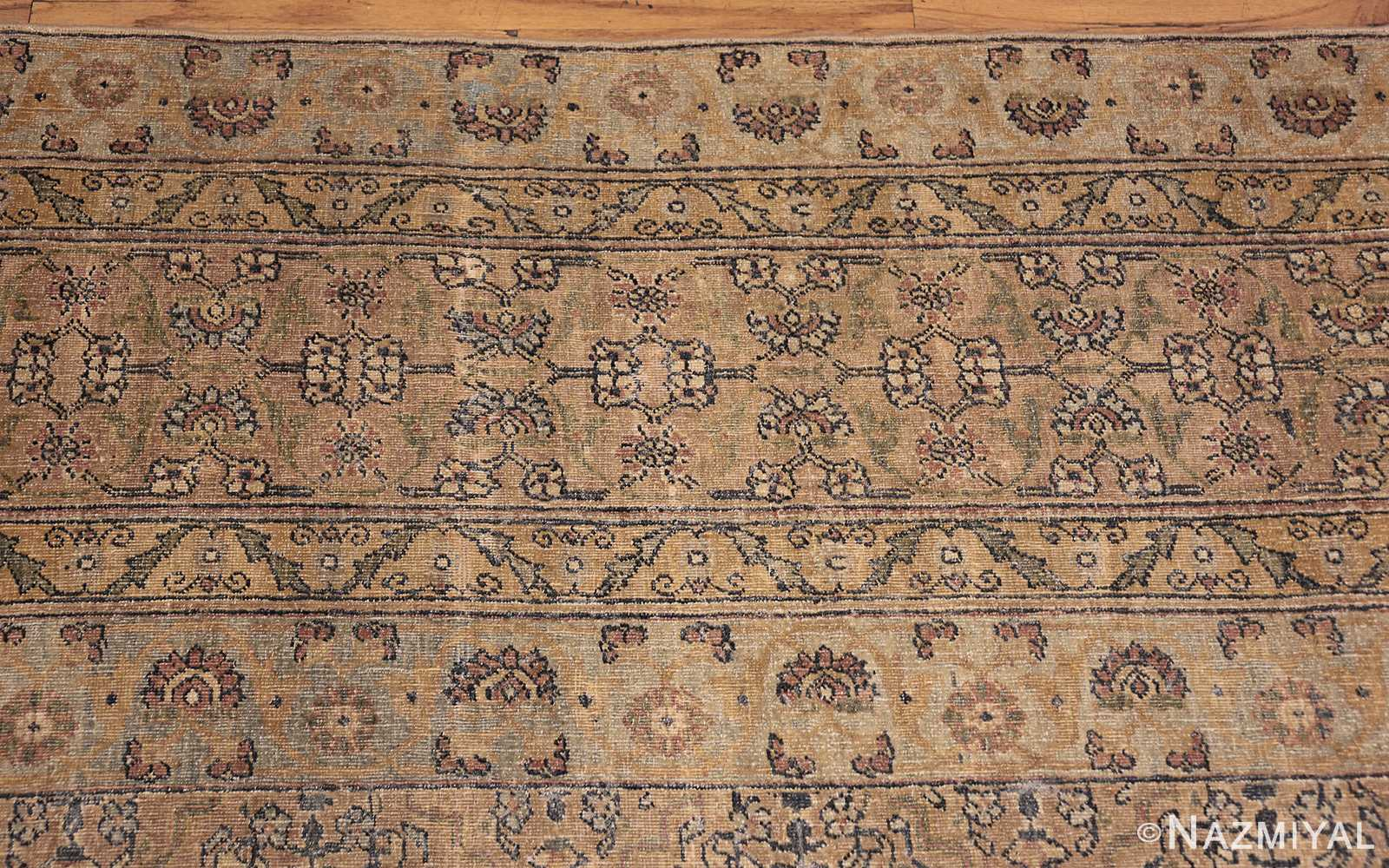 antique kerman rug 41807 closeup Nazmiyal