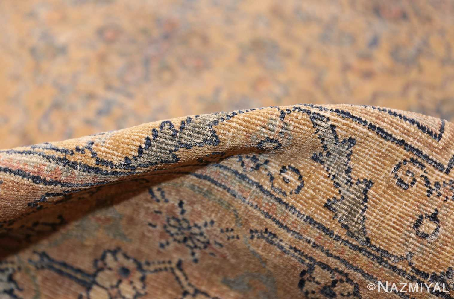 antique kerman rug 41807 weave Nazmiyal