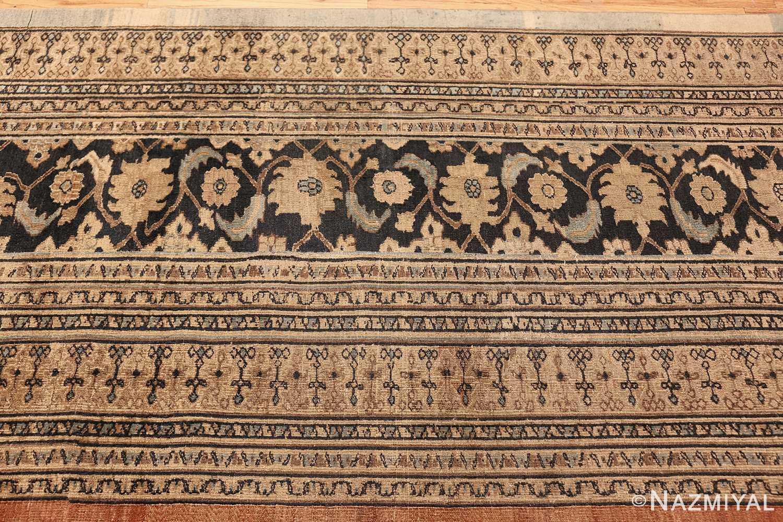 antique khorassan persian rug 40442 border Nazmiyal