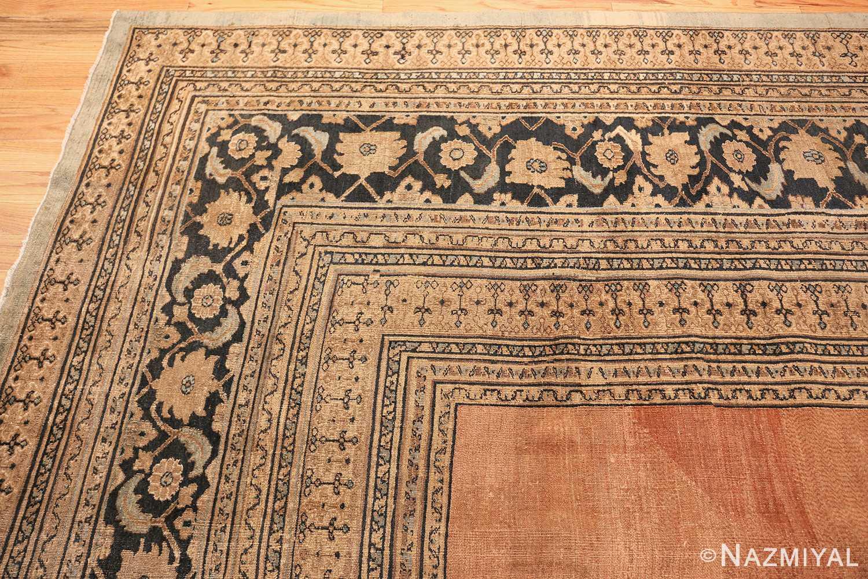 antique khorassan persian rug 40442 corner Nazmiyal
