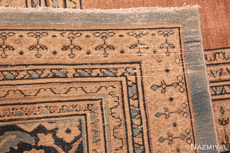 antique khorassan persian rug 40442 weave Nazmiyal