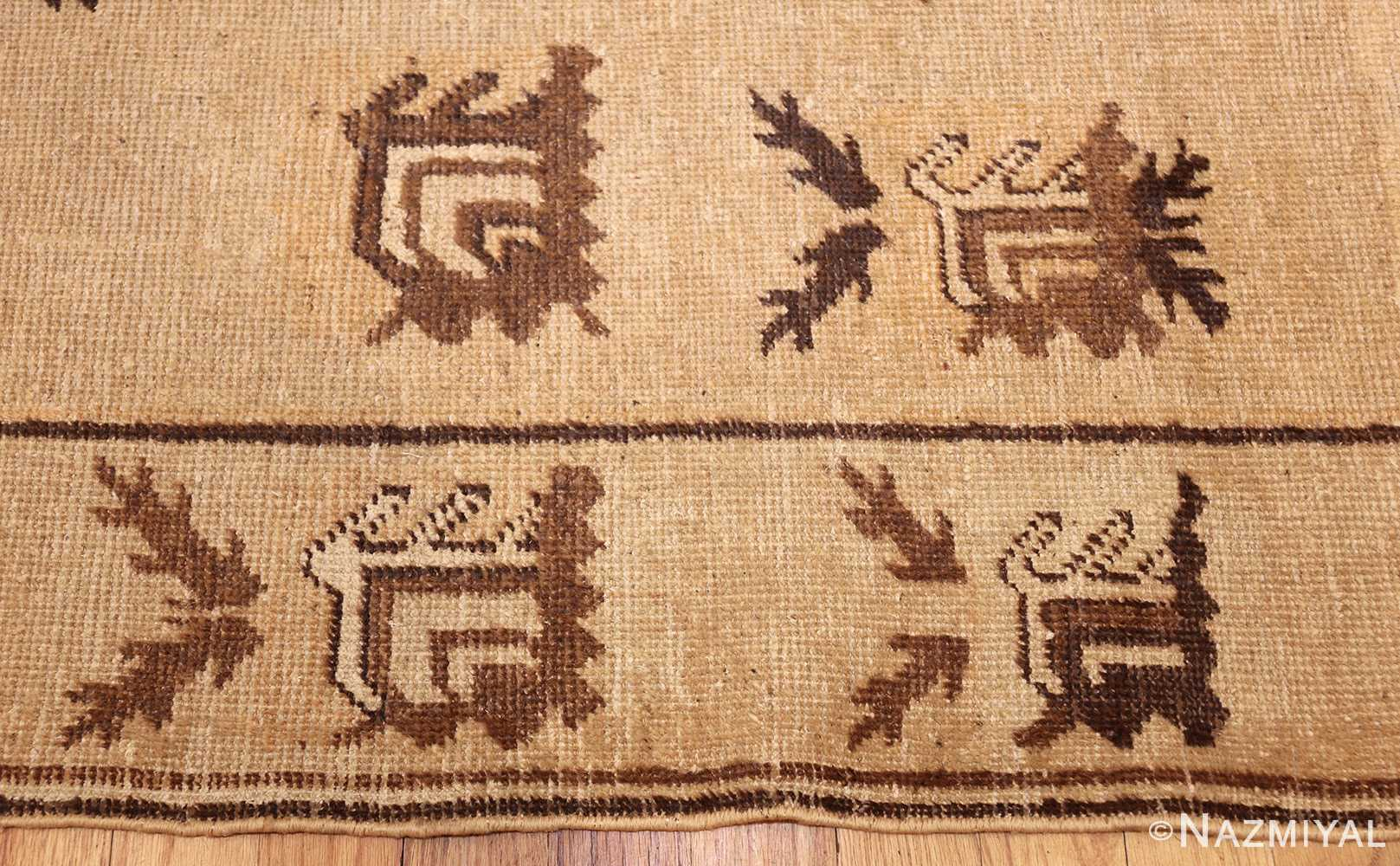 antique khotan rug 42921 border Nazmiyal
