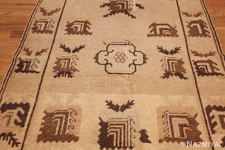 antique khotan rug 42921 field Nazmiyal