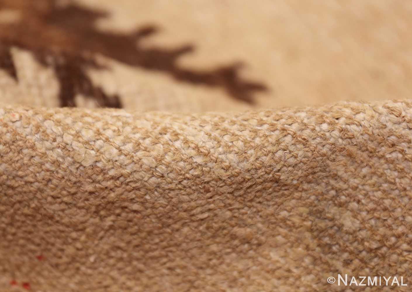antique khotan rug 42921 pile Nazmiyal