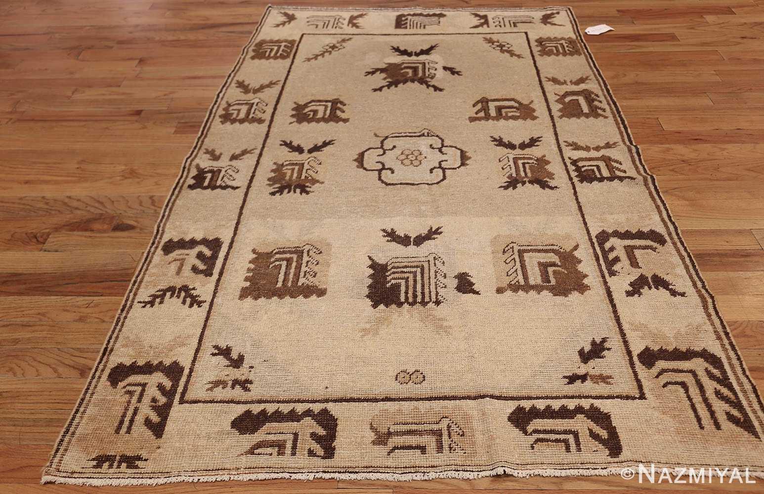 antique khotan rug 42921 whole Nazmiyal