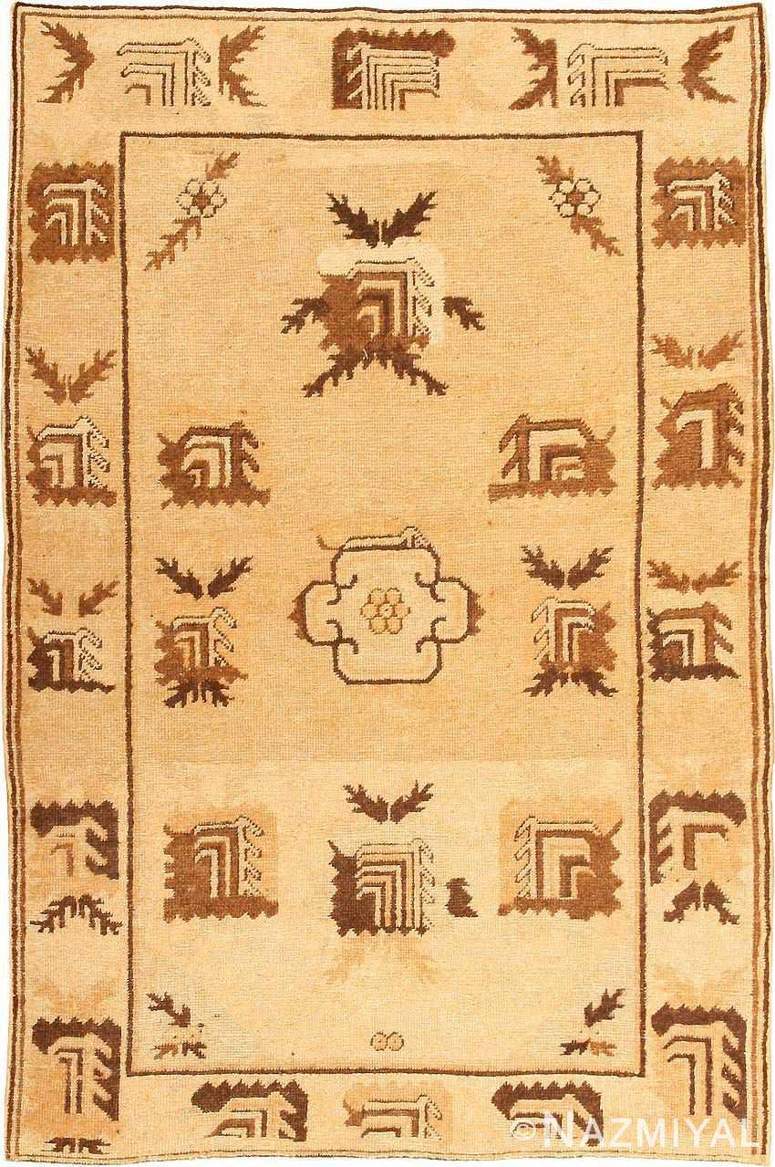 antique khotan rug 42921 Nazmiyal