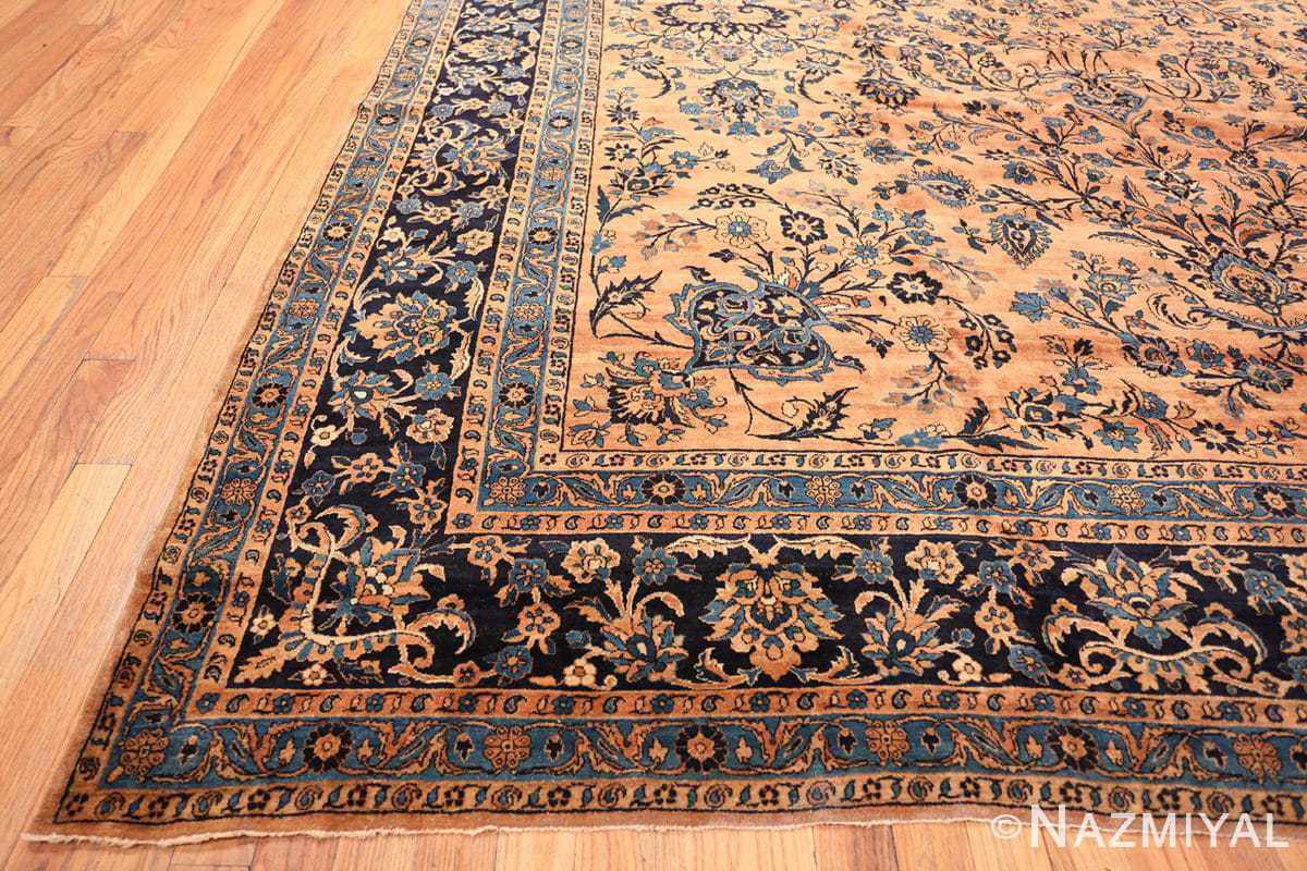 Corner Large Antique Kerman rug Persian 42101 by Nazmiyal