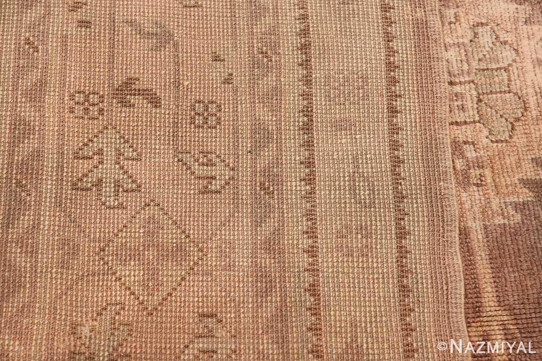 Decorative Room Size Antique Turkish Oushak Rug 42091 Woven Knots Nazmiyal
