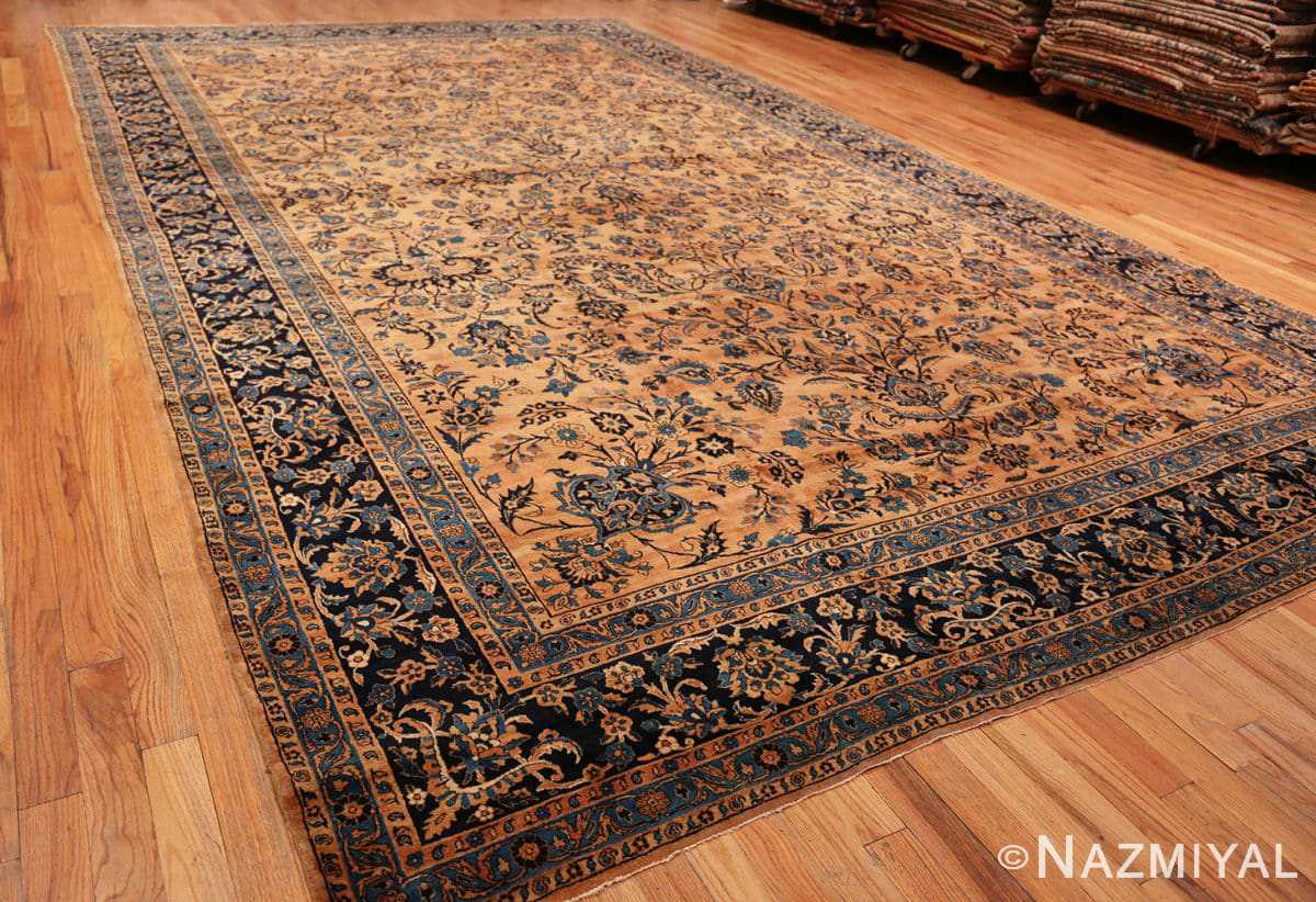 Full Large Antique Kerman rug Persian 42101 by Nazmiyal