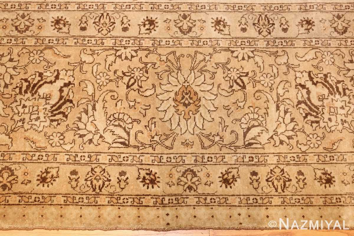 large antique persian tabriz rug 41516 border Nazmiyal