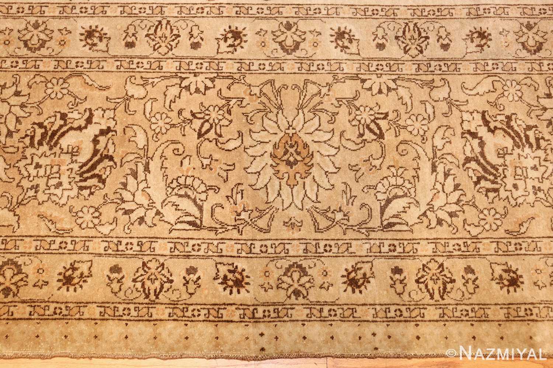 large antique persian tabriz rug 41516 border Nazmiyal