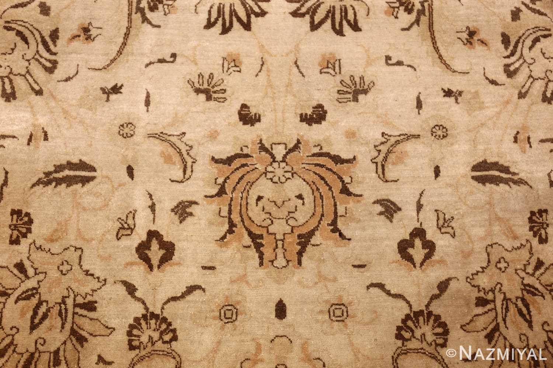 large antique persian tabriz rug 41516 brown Nazmiyal
