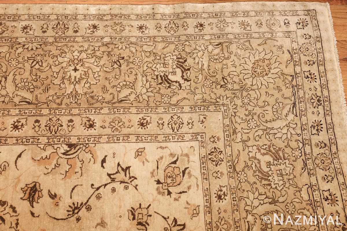 large antique persian tabriz rug 41516 corner Nazmiyal