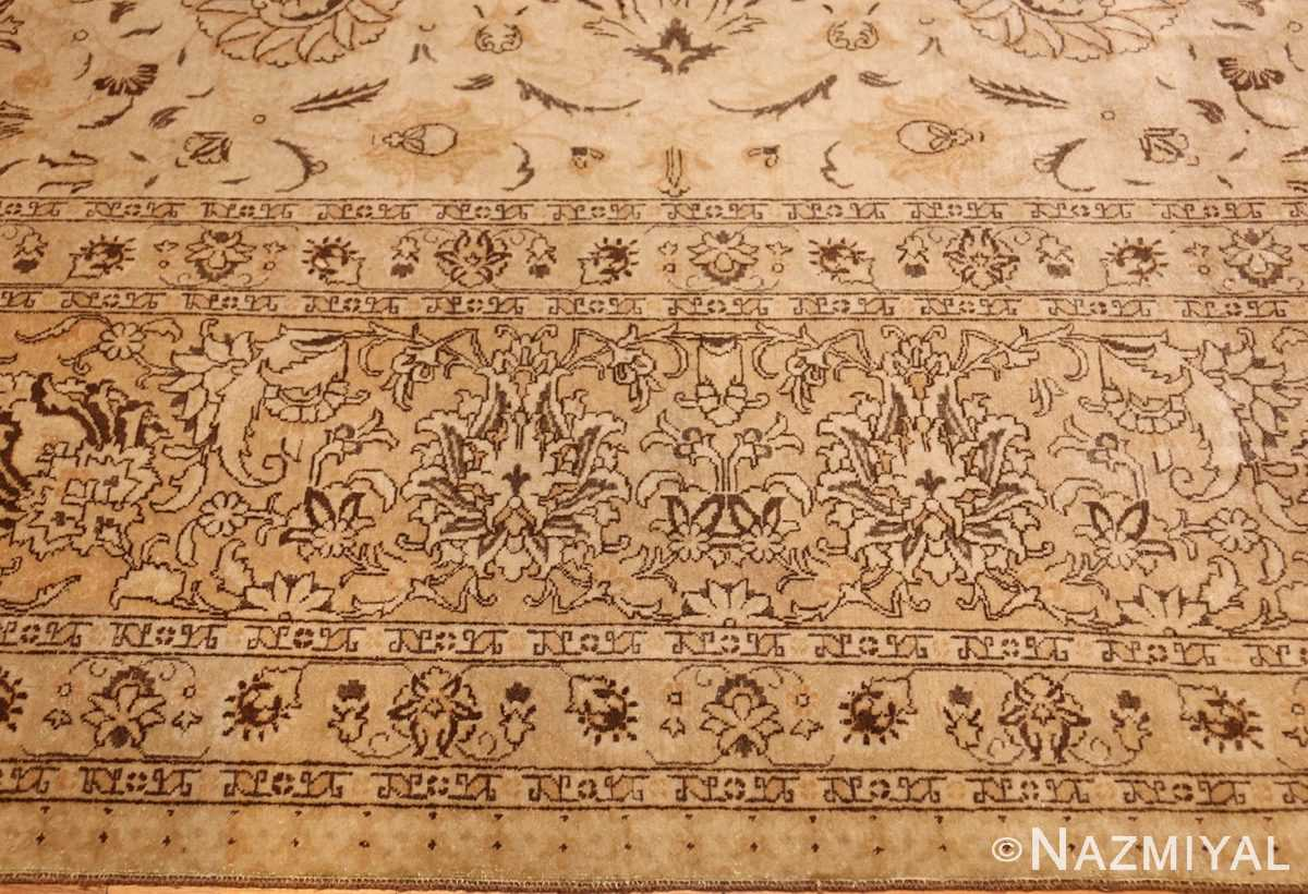large antique persian tabriz rug 41516 different Nazmiyal
