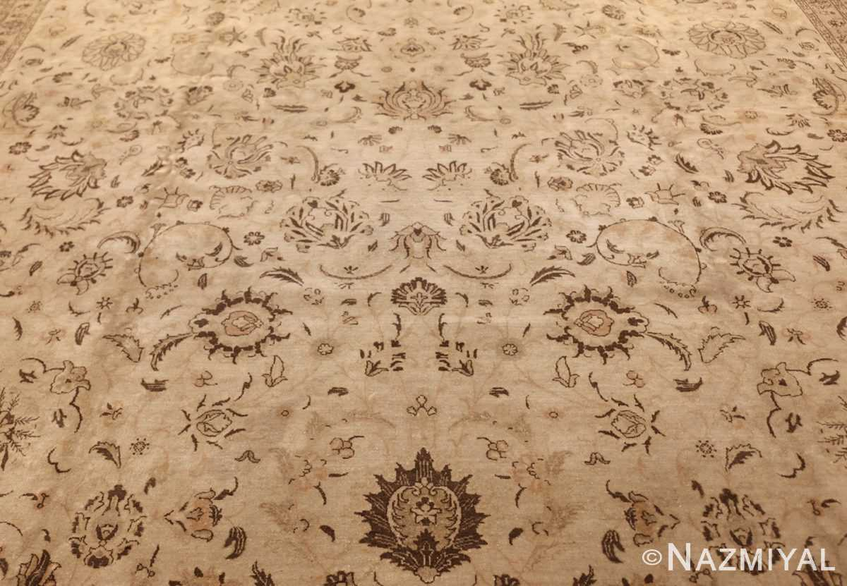 large antique persian tabriz rug 41516 field Nazmiyal