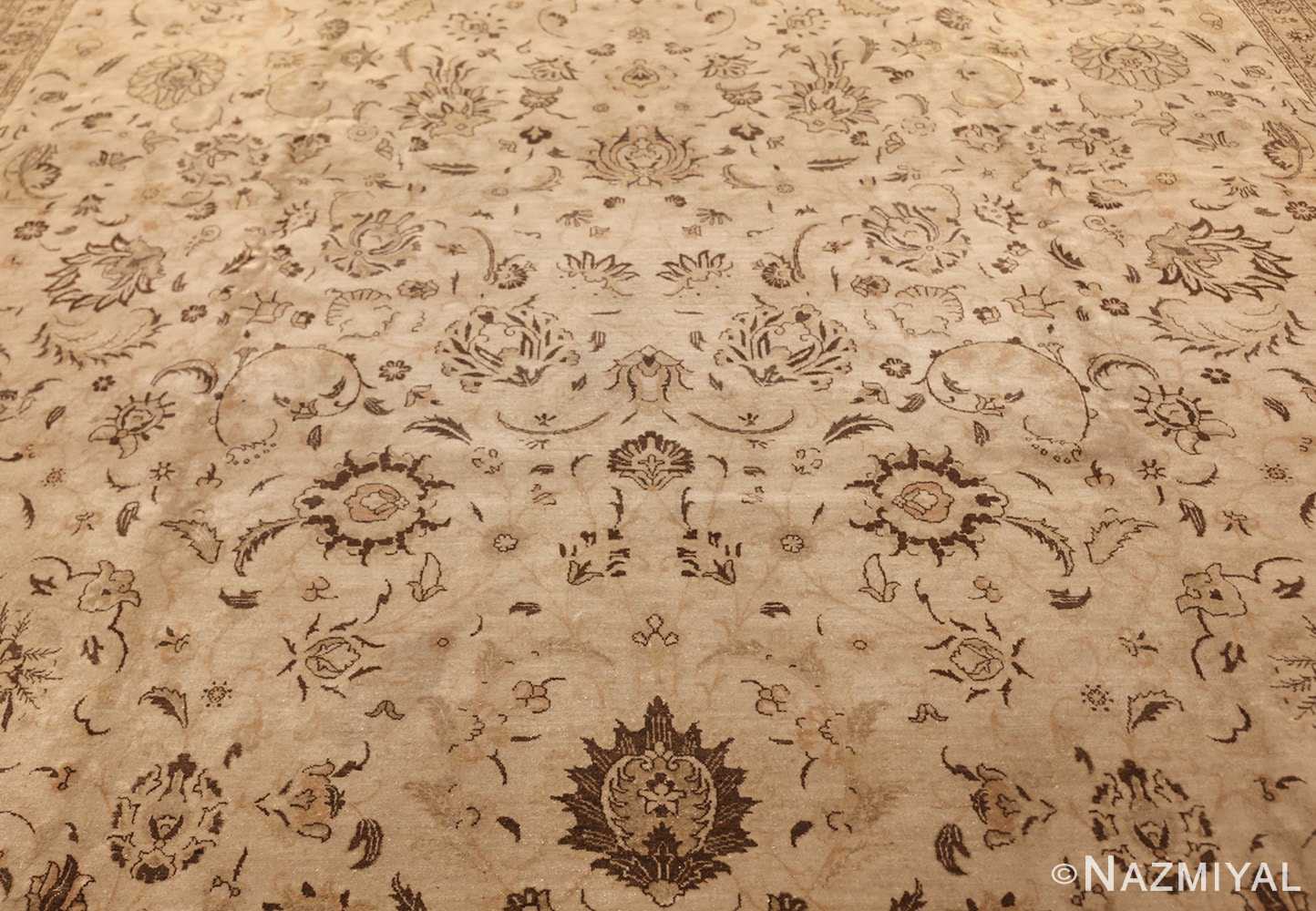 large antique persian tabriz rug 41516 field Nazmiyal