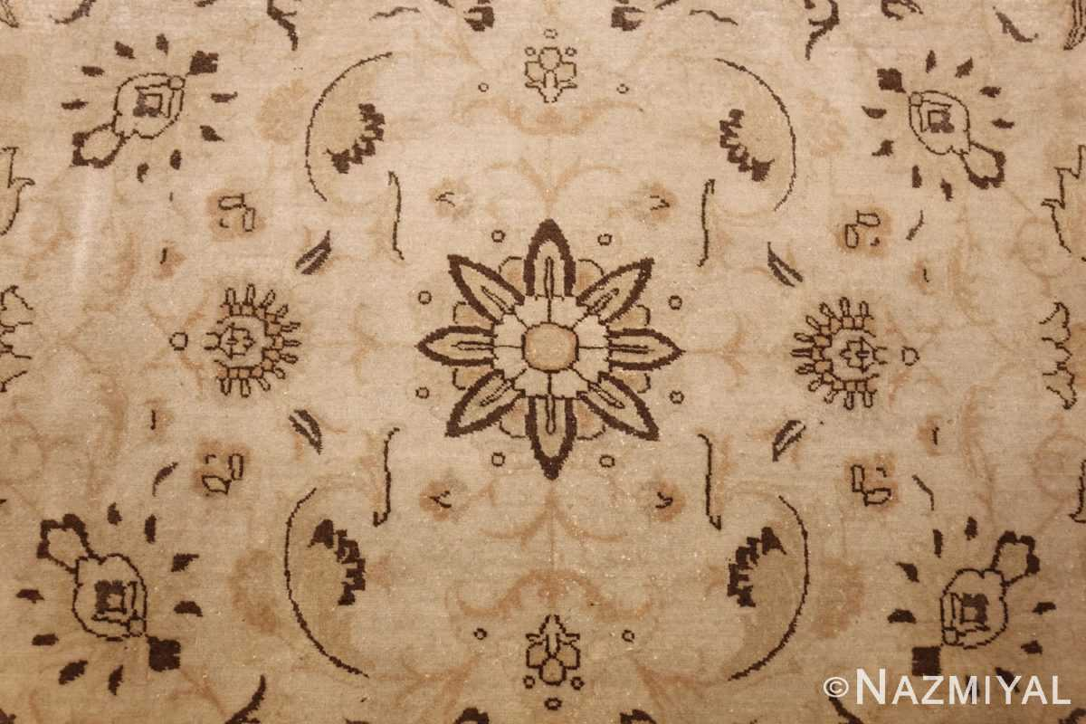 large antique persian tabriz rug 41516 flower Nazmiyal