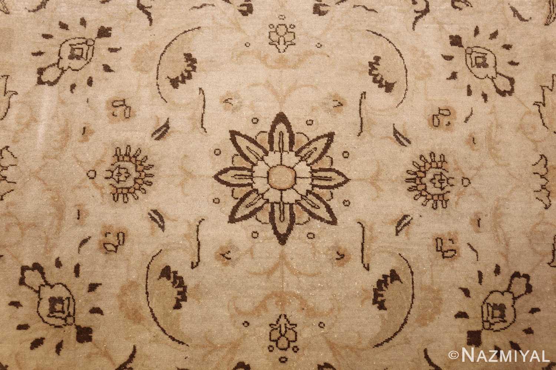 large antique persian tabriz rug 41516 flower Nazmiyal
