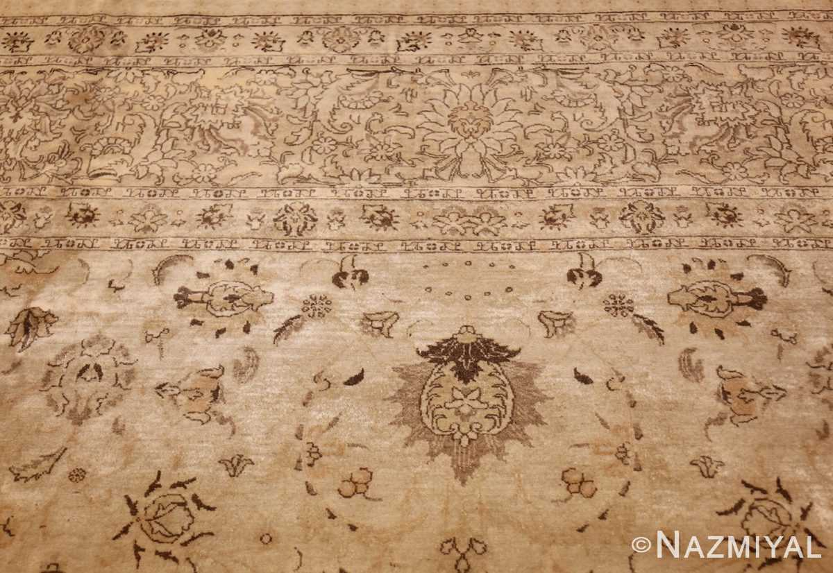 large antique persian tabriz rug 41516 top Nazmiyal