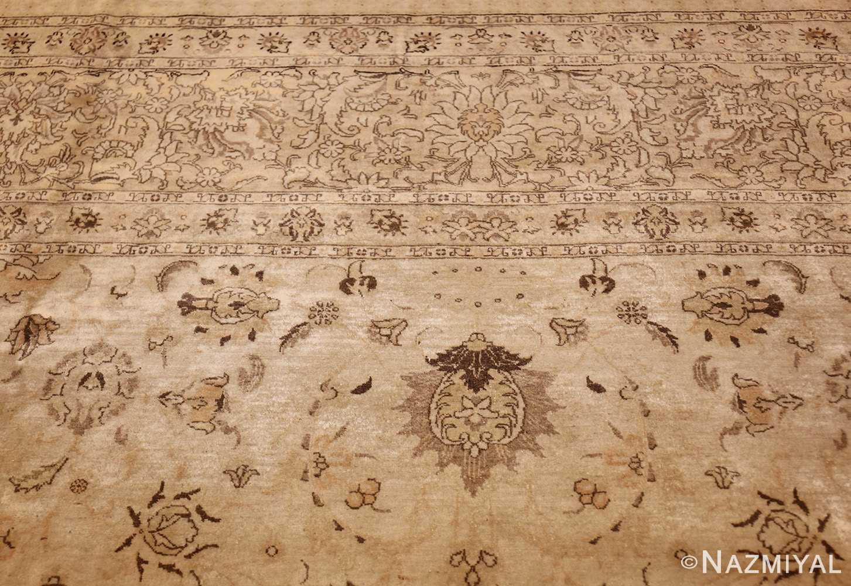 large antique persian tabriz rug 41516 top Nazmiyal