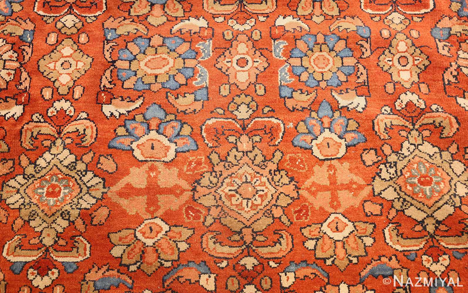 Rust Color Persian Antique Sultanabad Rug 41291 By Nazmiyal