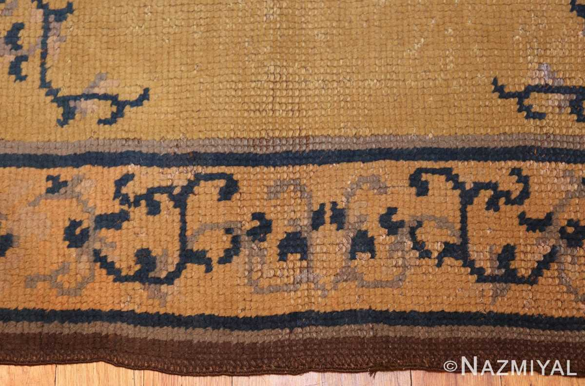square size antique spanish carpet 1151 border Nazmiyal