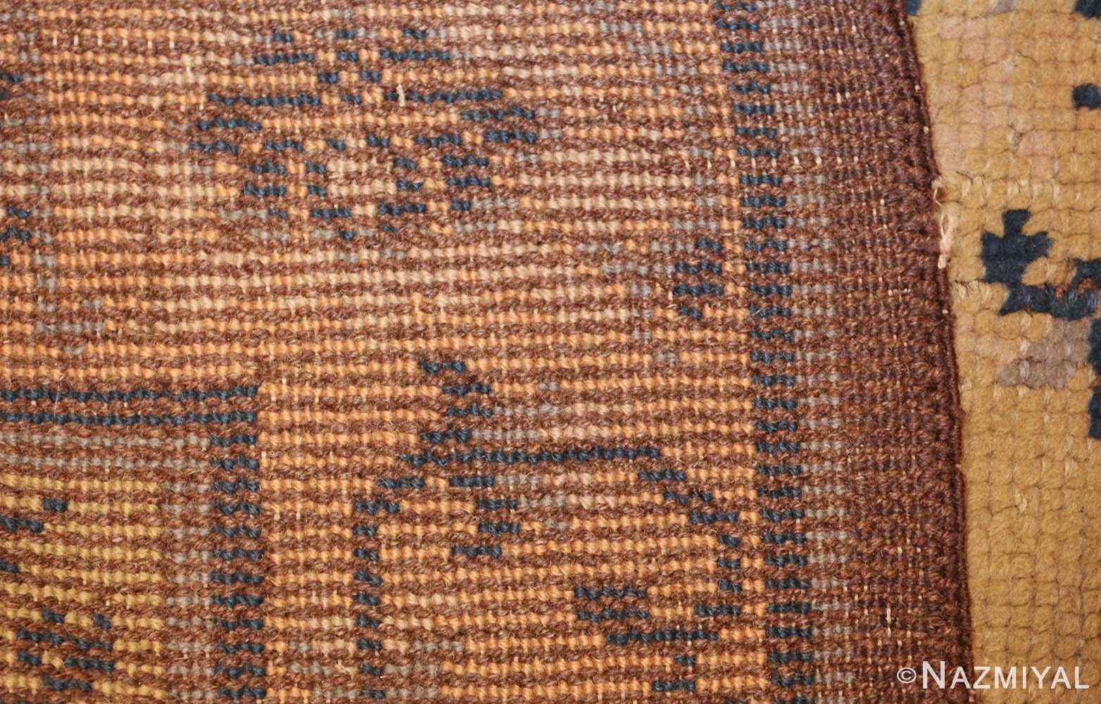 square size antique spanish carpet 1151 weave Nazmiyal