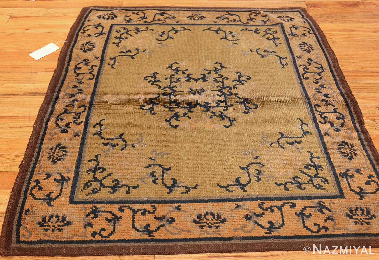 square size antique spanish carpet 1151 whole Nazmiyal