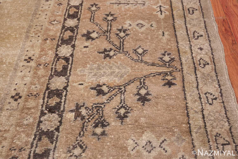 Tribal Large Antique Turkish Ghiordes Rug 40665 Brown Bush Nazmiyal