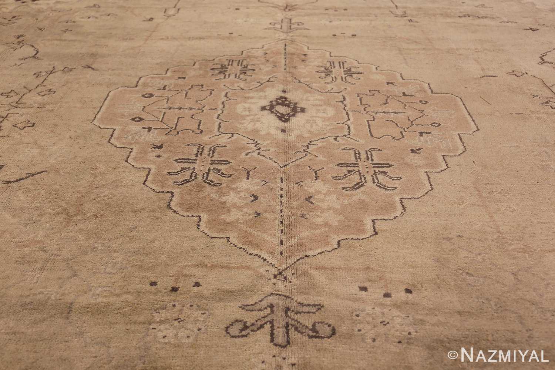 Tribal Large Antique Turkish Ghiordes Rug 40665 Central Medallion Nazmiyal