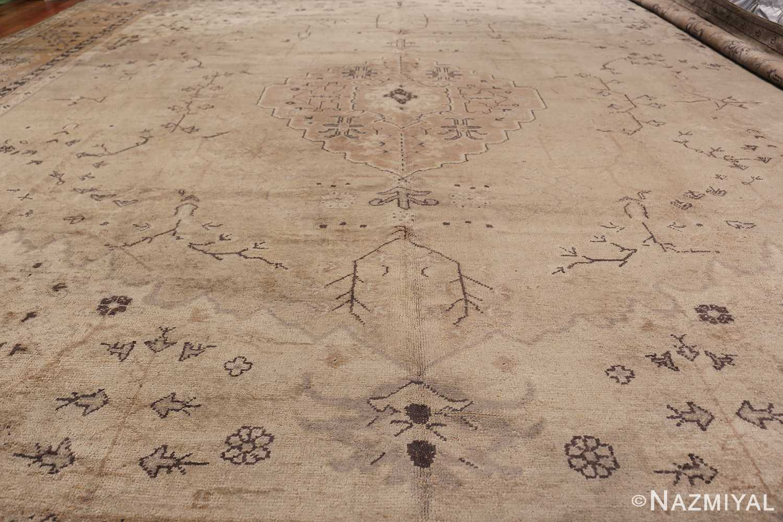 Tribal Large Antique Turkish Ghiordes Rug 40665 Field Design Nazmiyal