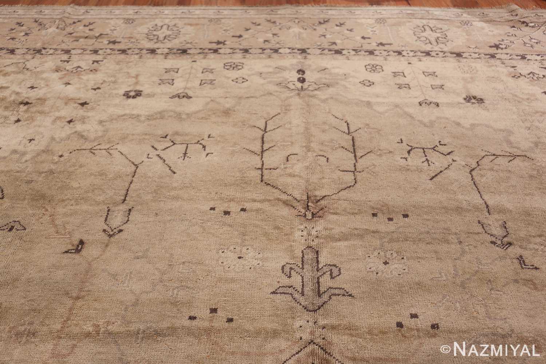 Tribal Large Antique Turkish Ghiordes Rug 40665 Top Design Nazmiyal