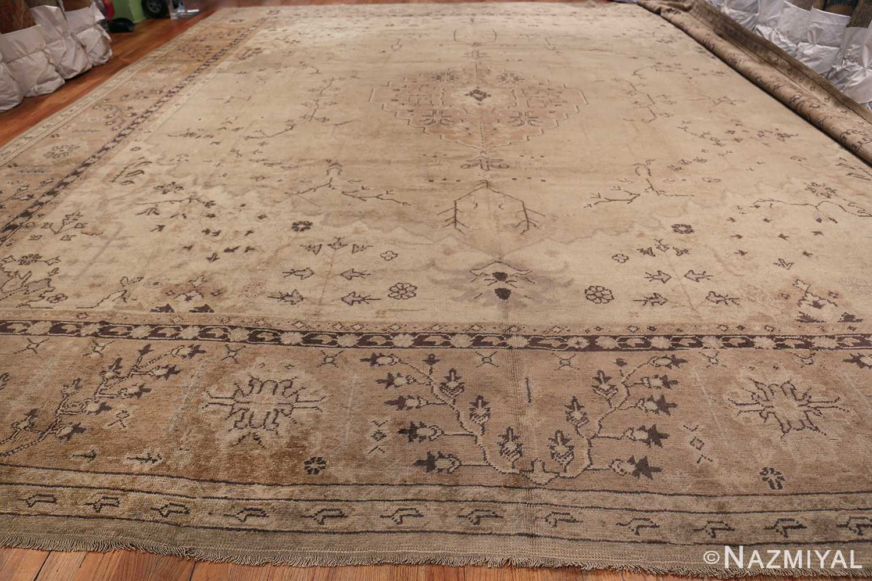 Tribal Large Antique Turkish Ghiordes Rug 40665 Whole Design Nazmiyal