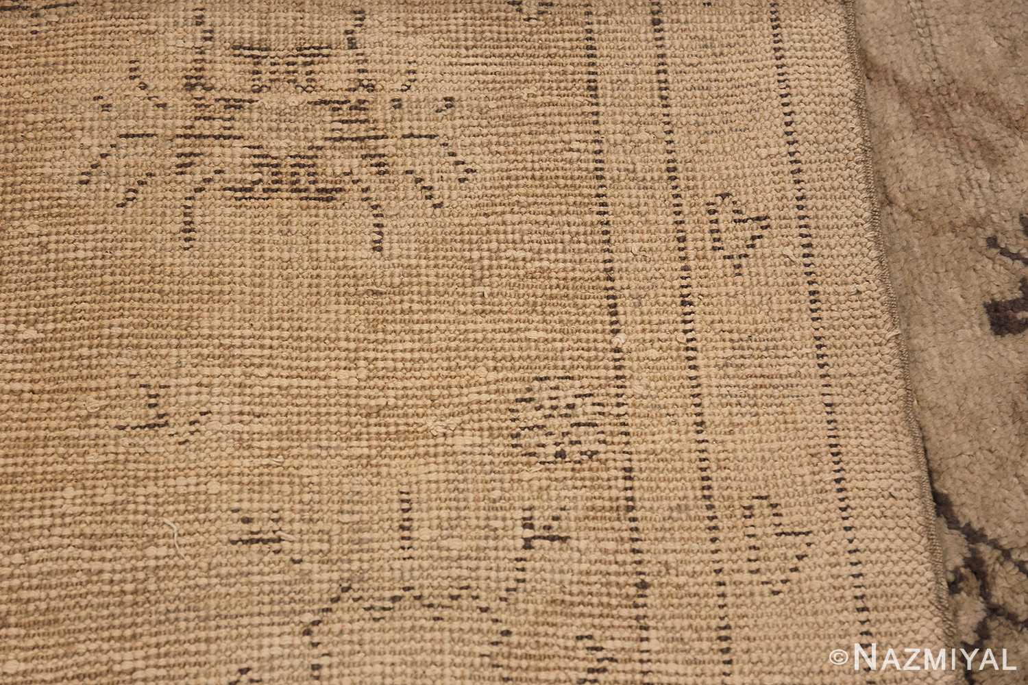 Tribal Large Antique Turkish Ghiordes Rug 40665 Woven Knots Nazmiyal