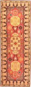 antique khotan samarkand rug 41507 Nazmiyal