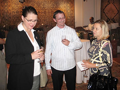 Omri Schwartz with Coco Arnesen by Nazmiyal