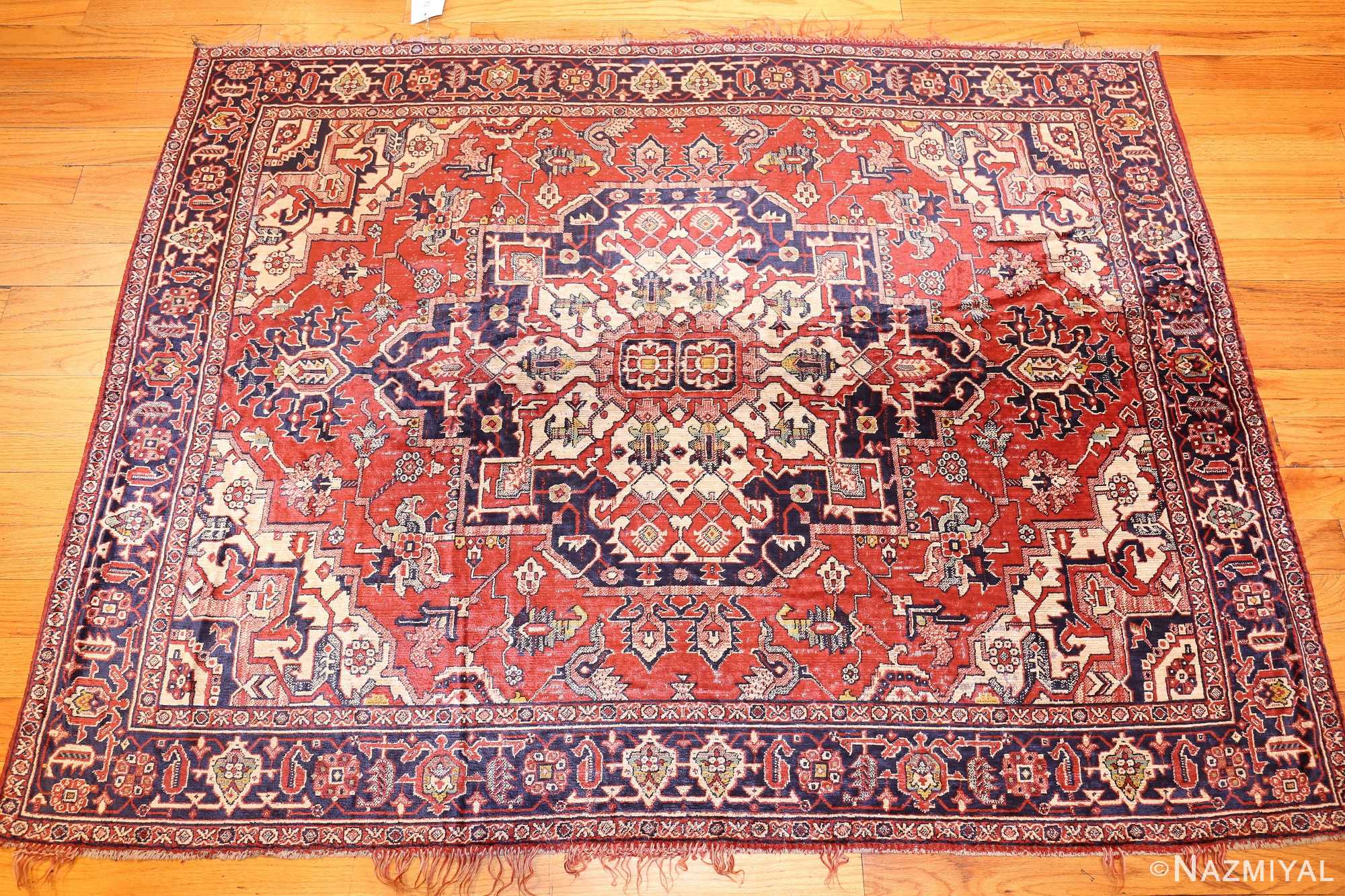 antique-american-chenille-rug-2685-1 Nazmiyal