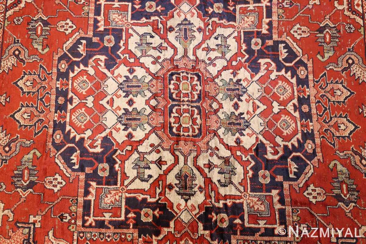 antique american chenille rug 2685 center Nazmiyal
