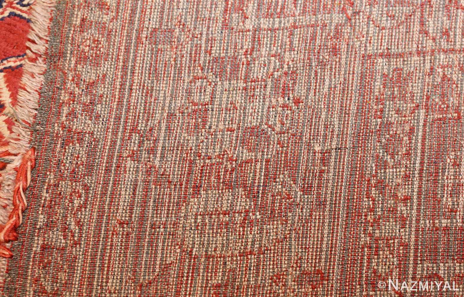 antique american chenille rug 2685 weave Nazmiyal