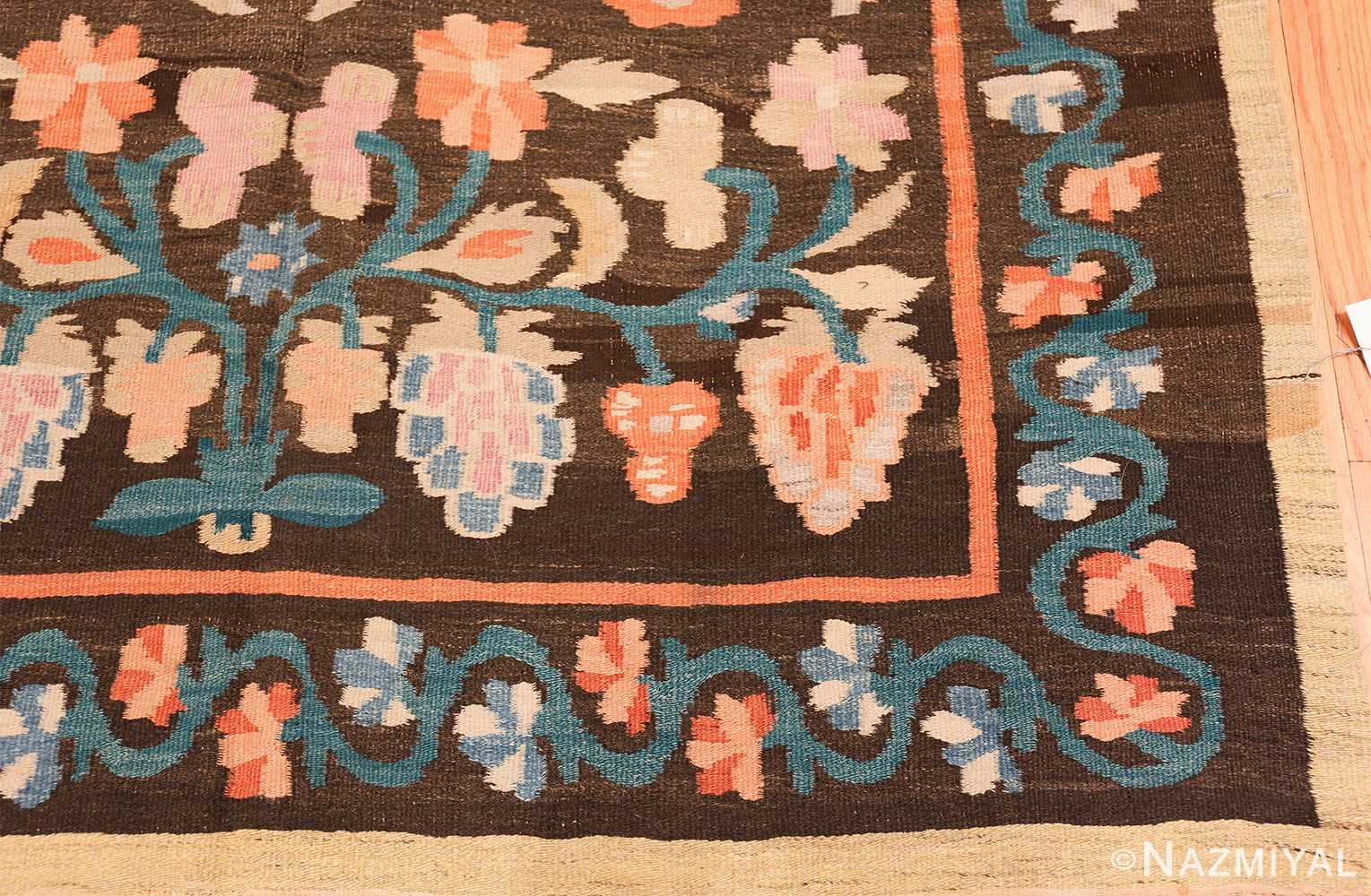 antique bessarabian rug 3322 corner Nazmiyal